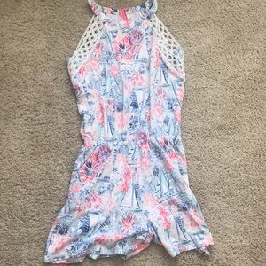 NWOT lilly pulitzer sea to shining sea lala romper